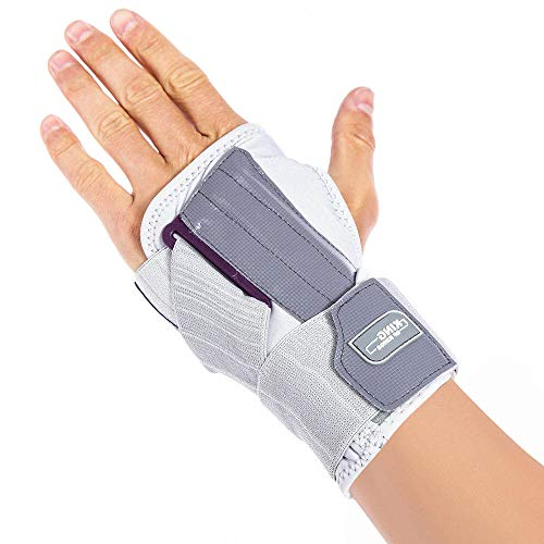 Carpal Tunnel Wrist Brace Night - Hand Sleep Support with Splints for tendonitis, Pain Relief, Injuries, Sprain Left Hand