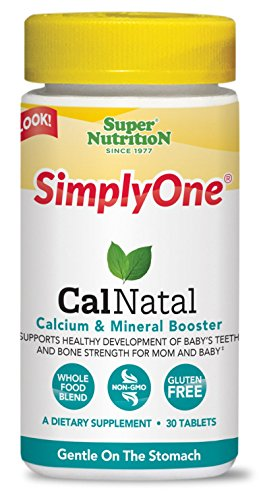 SuperNutrition Simply One Calnatal Multivitamins, 30 Count For Sale