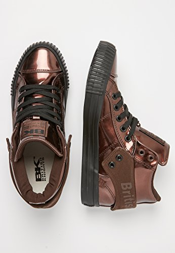 Knights British Roco Femme noir Bronze Hautes Baskets ddr7xwUn5q