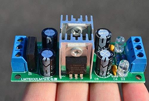 LM7915 -15V Dual Voltage Regulator Rectifier Bridge Power Supply Module DP-iot LM7815