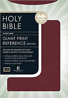 Book Personal Size Giant Print Reference Bible-KJV