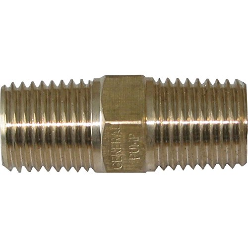 General Pump Brass Male Union Connector - 4000 PSI, 1/4in. NPT-M, Brass, Model# (Npt Male Union Connector)