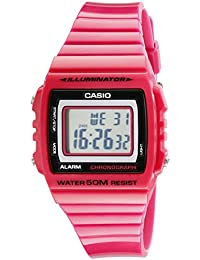 Kids W215H-4A Classic Digital Stop Watch, Pink