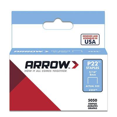 Arrow Fastener Co. 225 5/16-in P22 Staples