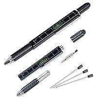 多機能ペン 「油性ボールペン タッチペン 定規 水平器 ドライバー」 ...