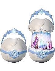 Disney 271FZO GoGlow barn popup lykta med nattlampa och ficklampa, vit