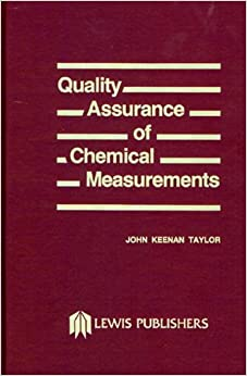 Quality Assurance Of Chemical Measurements Download