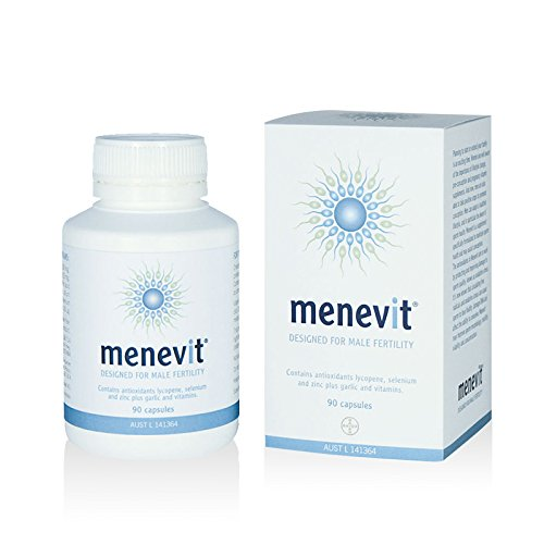 Menevit Vitamins Minerals 90 Capsules Pharmacy Medicine import from Australia