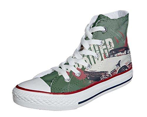 Converse Personalizzate All Star (prodotto personalizzato) sneakers, unisex-adulto Boy Chevrolet