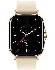 اميزفيت ساعة ذكية شريط متعددة متوافقة مع اندرويد,ذهبي - GTS 2