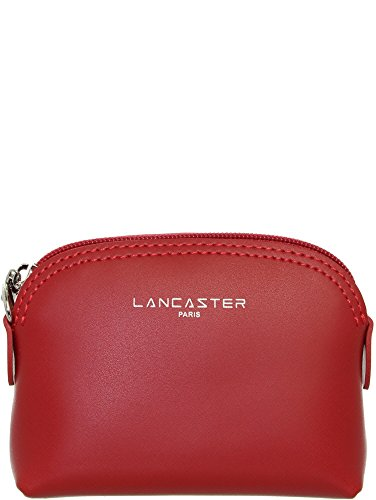 Porte lan39940 cuir Constance 8 ref Lancaster rouge en 11 5 3 monnaie Lancaster RgSdTgW0q