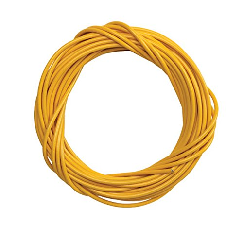 Sunlite Lined Brake Cable Housing, 5mm x 50ft, Yellow