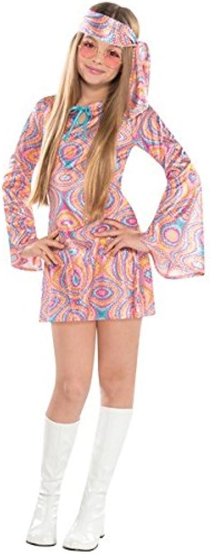 Disco Costume Adult 70s Diva Halloween Fancy Dress