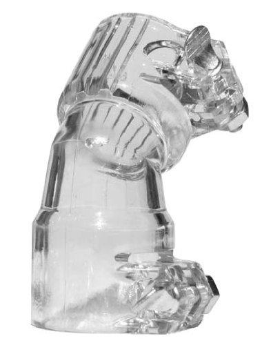 Gen-X Global Plastic Bent Elbow (CLEAR) G-179 Paintball Hopper Adapter