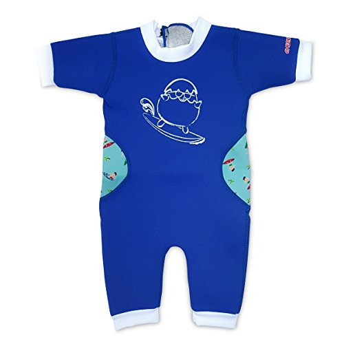 Cheekaaboo Warmiebabes-Baby, Toodler Thermal One Piece Kid Neoprene Swimwear, 12-18 Months, - Buoyancy Wetsuit