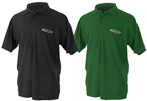 Maver Match Polo-Shirt Shirt schwarz groß–n726