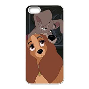 iPhone 4 4s Cell Phone Case White Lady and the Tramp II Scamp's Adventure Asumg