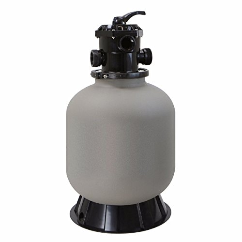 New 19'' Swimming Pool Sand Filter w 7 Ways Valve Inground Pool Fountain Pond Clear by MTN Gearsmith
