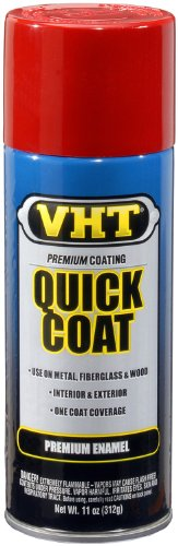 VHT SP501 Quick Coat Fire Red Acrylic Enamel Can - 11 ()