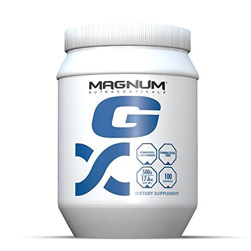 Magnum Nutraceuticals L-Glutamine – 100 Servings – Immune System Support – Systematic Assimilation – Build & Repair Lean Muscle – Improve Blood Flow
