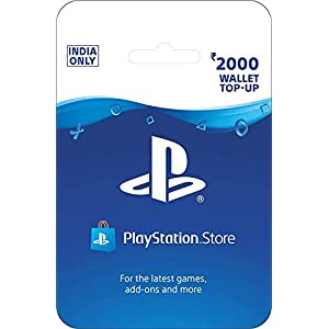 Rs.2000 Sony PlayStation Network Wallet Top-Up Card ( Code - Pay On Delivery Available )