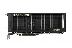 Gainward GeForce GTX 570 - Tarjeta gráfica de 1 GB (GeForce GTX 570, GDDR5, 2560 x 1600, 750 MHz, HDMI)