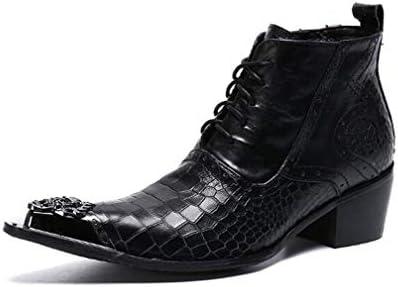 ブーツメンズブーツポインテッドトゥチェルシー、ノベルティ靴合成春は、オックスフォードブラック、パーティー&イブニングコンフォートシューズ秋