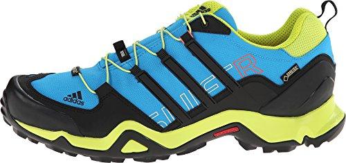 adidas Outdoor Men's Terrex Swift R GTX? Solar Blue/Black/Semi Solar Yellow Sneaker 10 D (M)
