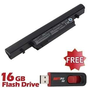 Battpit Bateria de repuesto para portátiles Toshiba Tecra R950-123 (4400 mah) Con memoria USB de 16GB GRATUITA