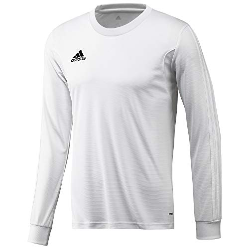 adidas Performance Men's Squadra 13 Long Sleeve Jersey (White) (Small) (Adidas Squadra Jersey)
