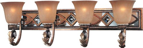 durable service Minka Lavery 6744-206, Aston Court, 4 Light Bath Fixture, Aston Court Bronze