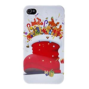 Buy Christmas Boot Back Case for iPhone 4/4S