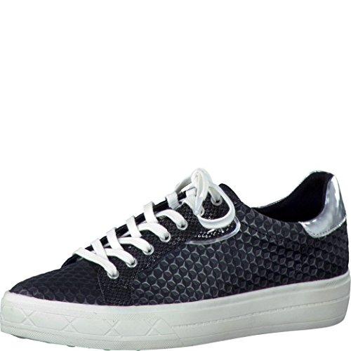 Tamaris Damen 23600 Sneakers Black Struc. Baskets Struc Noir. #