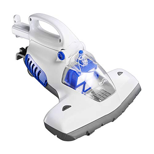 Housmile 12KPa Handheld Vacuum Powerful Suction with Advanced HEPA Filtration and Concealed Telescopic Handle, Effectively Removes Dust Mite Matters, Bacteria, Viruses and Pollen-Upgraded