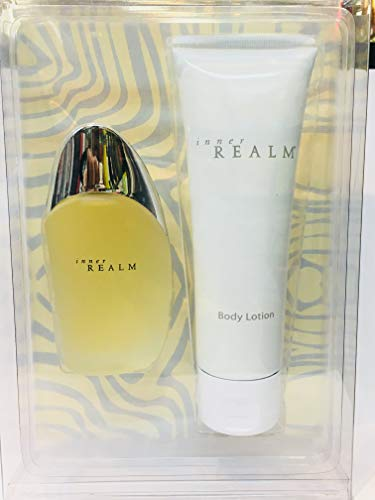 Inner Realm for Women Gift Set - 1.3 oz EDT Spray + 3.3 oz Body ()