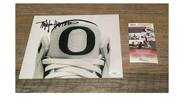 a34015752f969 Tinker Hatfield Autographed Signed 8x10 Photo Nike Oregon Designer ...
