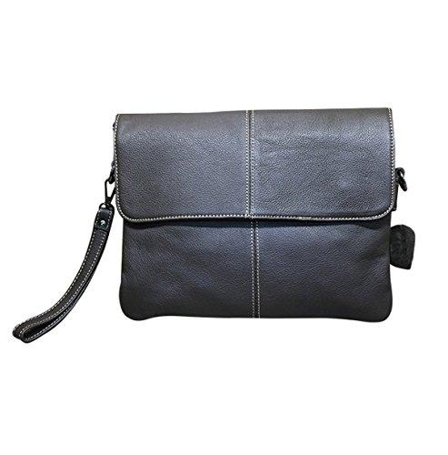 Hand Business Browm Casual For Bag Clutch Man Unique Brown Pouch Classic qtdUxzwd