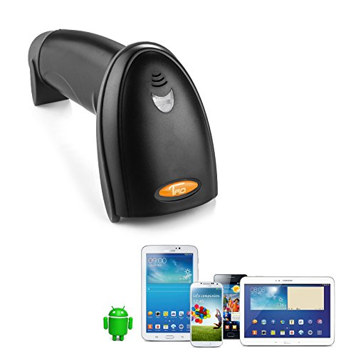 Taotronics bluetooth wireless barcode scanner supports for Ipad o android
