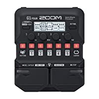 Zoom G1 Four Guitar Multi Effects Pedal 10