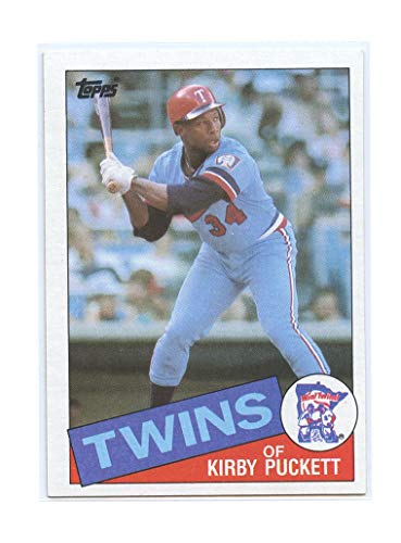 1985 Topps #536 Kirby Puckett Minnesota Twins Rookie Card- Mint Condition Ships in New Holder - Mint Condition Ships in Brand New Holder ()