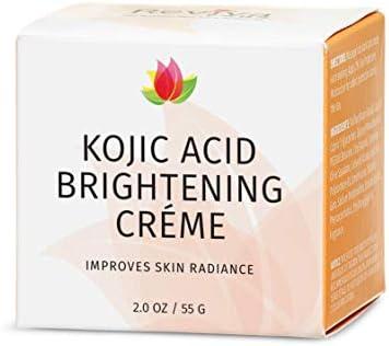 Reviva Labs - Punto marrón profesional que aclara la crema de la noche con ácido kójico - 1.5 oz.
