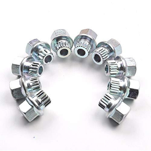 # 23Teeth Antirrobo Perno de rueda Tuerca de fijaci/ón Adaptador de llave perno 1 UNIDS for BMW 1 3 5 6 7 Serie Mini X1 X2 X3 X4 X5 X6 X6# 13Dientes L-Yune Size : 16 teeth 32