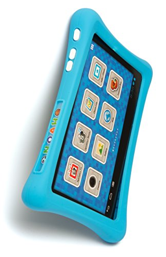 Nabi 2 Tablet Bumper Case with 26 Piece Kinabis Letter Pack Bundle - Educational and Interactive Alphabet Letters with Protective Blue Tablet Case for Kids Ages 3 Plus Photo #4