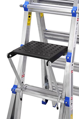 TOPRUNG 16''x15'' Work Platform for Ladders, Heavy Duty Ladder Accessory by Toprung (Image #4)