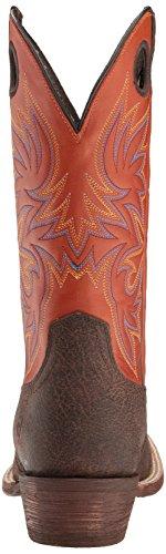 Ariat Menns Krets Spiss Western Cowboy Boot, Sjokolade Oljet Gaucho, 8,5 D Oss sjokolade Oljet Gaucho