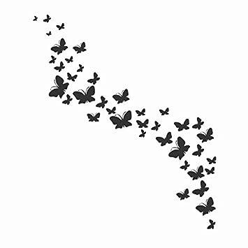 Plantilla reutilizable de mariposas, tamaño A5, tamaño pequeño, tamaño grande, romántico,