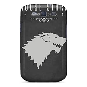 Excellent Galaxy S3 Case Tpu Cover Back Skin Protector Game Of Thrones House Stark