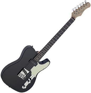 Stagg SET-CST BK Vintage Series Negro guitarra eléctrica