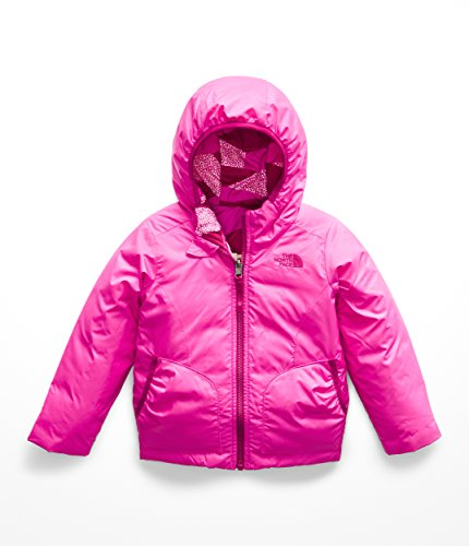 The North Face Kids Baby Girl's Reversible Perrito Jacket (Toddler) Azalea Pink 3T