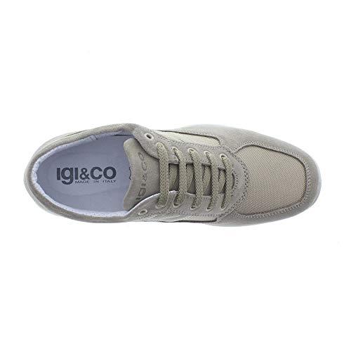 00 Beige 76934 basse uomo sneakers 33 IGI Beige BLU amp;CO scarpe YqwxAC4a